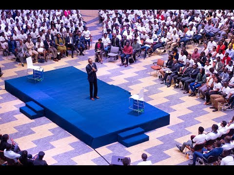 Meet the President | Conversation with the Youth | Kigali, 14 August 2019
