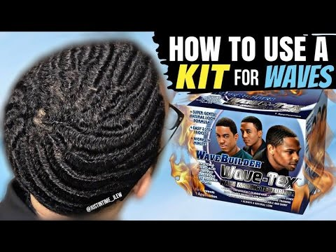 How To Use A Kit To Get 360 Waves: Wave Making Texturizer Kit -- WaveBuilder Wave-Tex