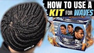 how to use a kit to get 360 waves wavebuilder wave tex wave making texturizer kit hd s
