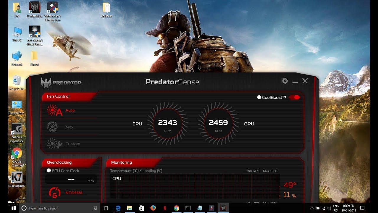 HOW TO Overclock GPU using Predator Sense