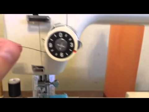 Threading A Vintage Kenmore 40 Stitch Sewing Machine YouTube Awesome How To Thread A Vintage Kenmore Sewing Machine
