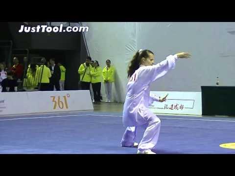 1st World Taijiquan Championships - Women's Group A Compulsory Chen Taijiquan - 3rd Place CZE