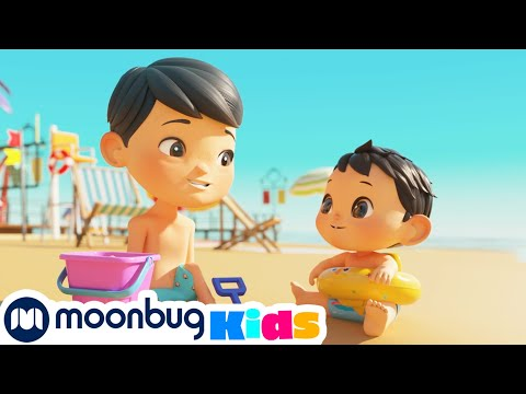 Swimming Song | +More Nursery Rhymes & Kids Songs | Song Compilation | Little Baby Bum