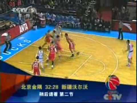 Patty Mills Xinjiang Flying Tigers vs Beijing Jinyu Ducks Part 1