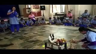 Chetan child development school student kum.Deekshitha