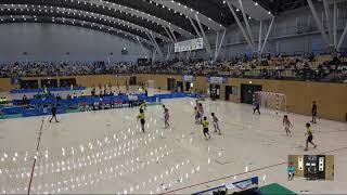 2018IH  女子ハンドボール 2回戦 江津(島根県) 対 熊本千原台(熊本県)