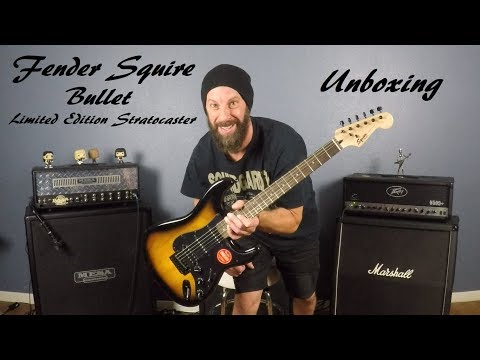 Unboxing: Fender Squire Bullet Stratocaster HSS with Tremolo Limited Edition