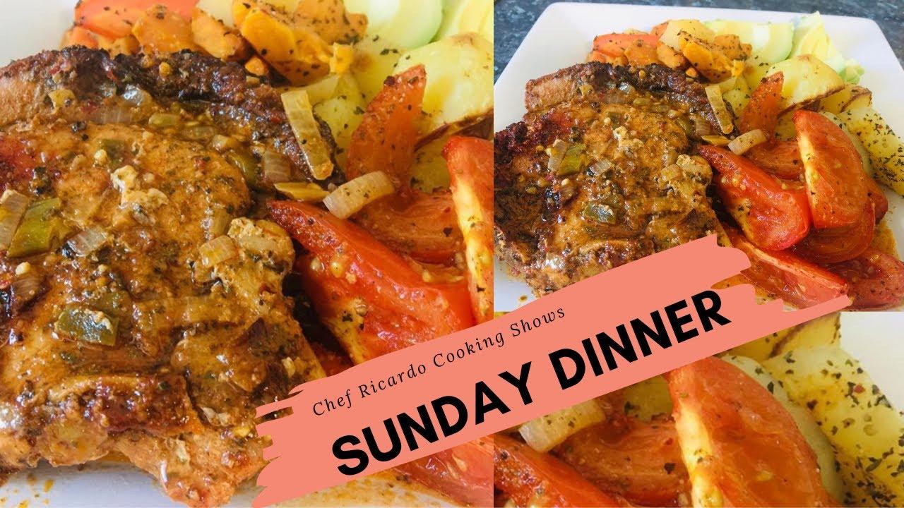 Sunday Dinner Delicious Braised Pork Chops Recipe Easy Pork