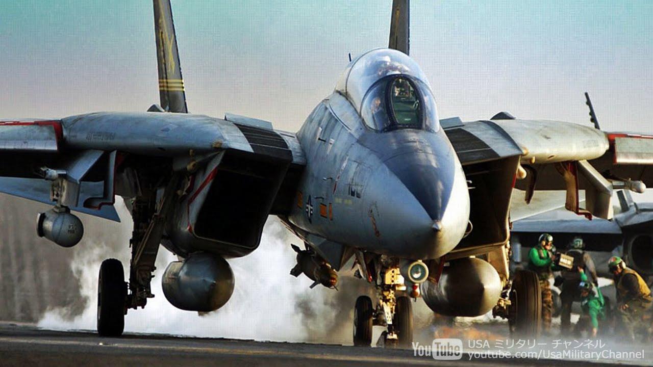F-14 Tomcat トムキャット・退役直前映像 - YouTube