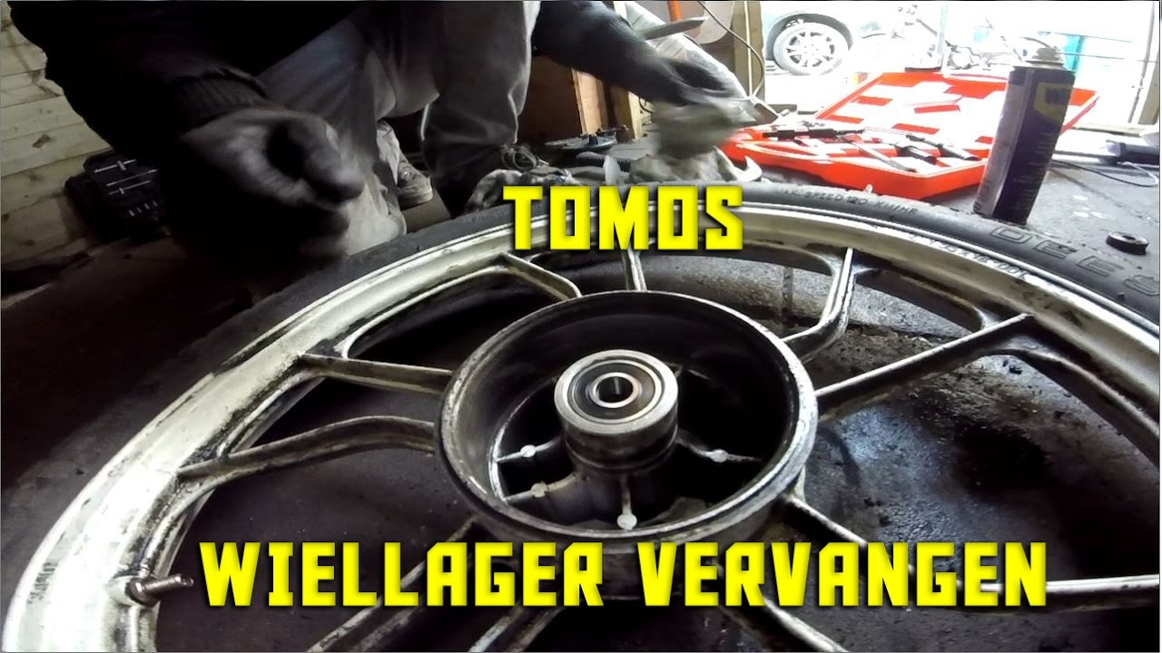 Tomos Wiellager Vervangen Tomos Wheel Bearing Replacement