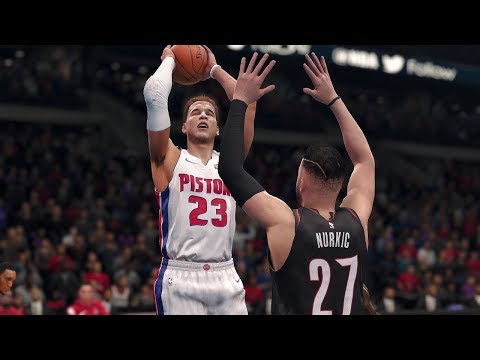 Portland Trailblazers vs Detroit Pistons | NBA Today FULL Game w/ NBA Highlights Feb 5 (NBA LIVE 18)