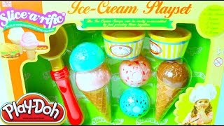 Plastilina Play-Doh Helados | Play Doh Ice Cream Playset Mundo de Juguetes