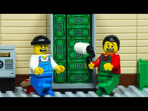 Lego City Central Bank Robbery