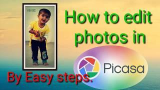 Photo editing tutorial in Picasa/ Picasa 3 Photo editing/Photo Editing Software. screenshot 1