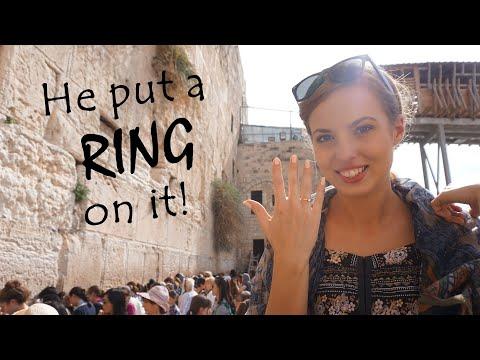 OUR DREAM ENGAGEMENT TRIP   Israel 2017   Jerusalem + Tel Aviv   Weronika & Maciej