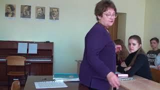 Открытый урок профессора Л.А. Вишневской