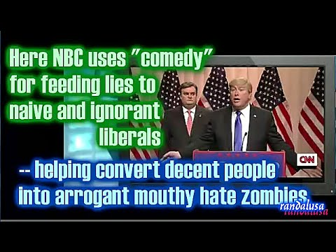 Racism is not a sin - Either way, Donald Trump has been falsely accused by ABC, NBC and CBS