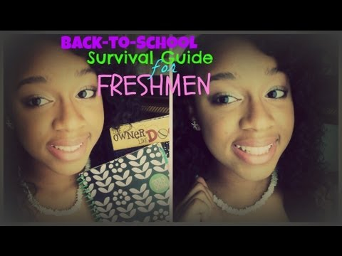 My Survial Guide For Freshmen Starting High School Advice | BeautybyTommie