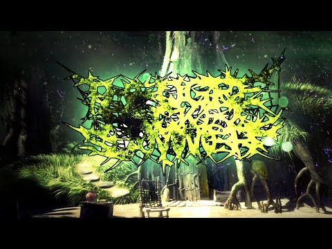 THE OGRE PACKET SLAMMERS - GIANT GREEN DESTRUCTION [OFFICIAL LYRIC VIDEO] (2018) SW EXCLUSIVE