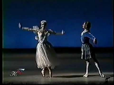 La Sylphide  Nadezhda Gracheva and Dmitri Gudanov