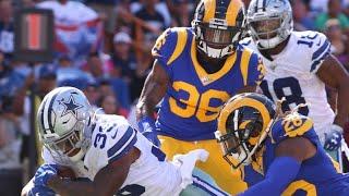 Dallas Cowboys vs LA Rams Halftime Report