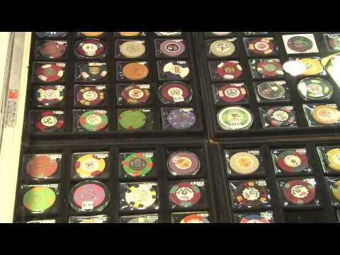 Casino Chips Continue to Grow in Popularity with Collectors. VIDEO: 4:00.