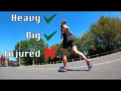 5 Best Tips to Run Injury Free | Advice for heavy runners