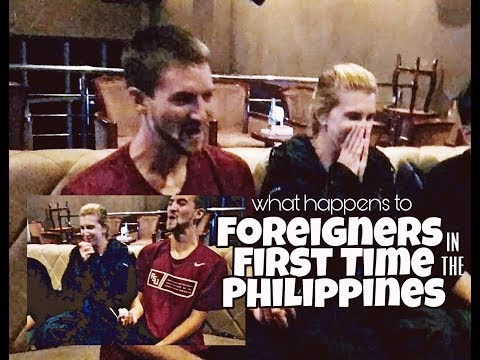 What happens to foreigners visiting the Philippines for the first time?