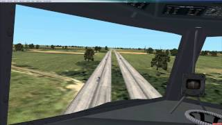 DC 6 low altitude highway cruise fsx