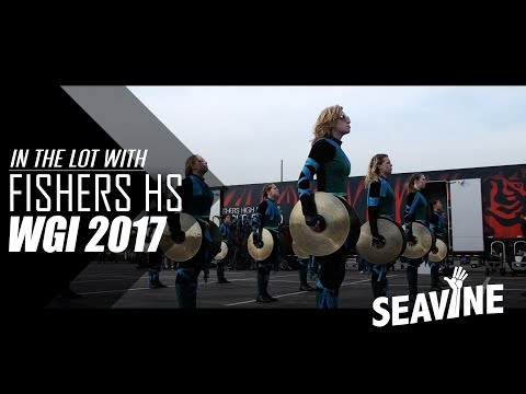 Fishers High School Cymbal Line 2017 Semis- In the Lot with Seavine