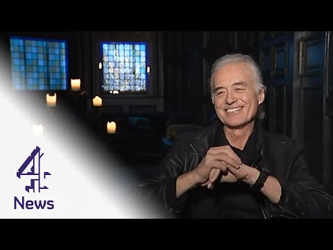 Jimmy Page: my autobiography will be published when I'm dead | Channel 4 News