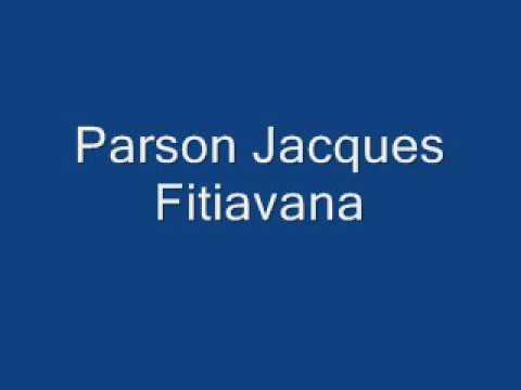 Parson Jacques Fitiavana