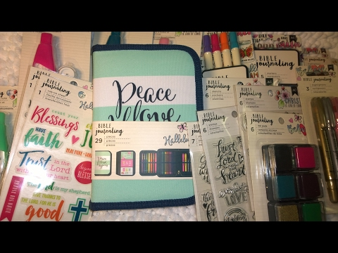 NEW at Michaels Bible Journaling with Pen Case by American Crafts