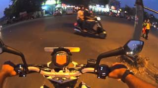 Driving the KTM Duke 200 in the City