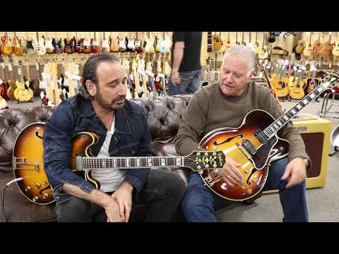 Jason Sinay and Norm discuss our 1961 Epiphone Sheraton here at Norman