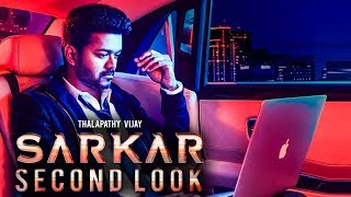 Sarkar Official Second Look : Vijay
