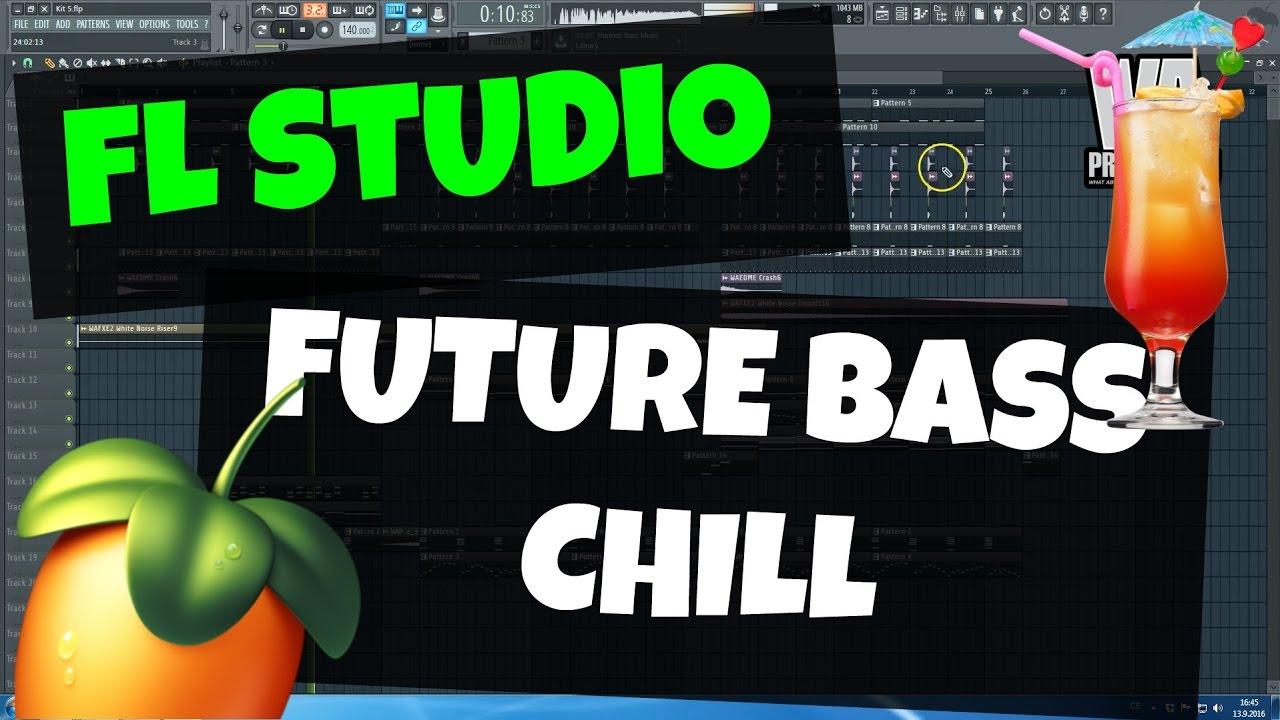 FL Studio Template 21: Chilled Future Bass / Chillstep