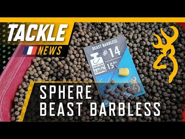 Sphere Beast Barbless: Hermann avec l'hameçon parfait pour la pêche à la carpe!