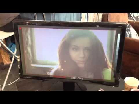 Пиратское видео со съемок клипа Master Spensor & Алисия - Странная любовь