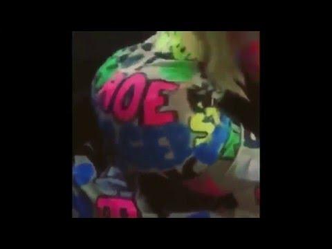Rihanna, Amber Rose, Iggy Azalea,Blac Chyna Does Weave Dance & Twerk To Trapp Tarell
