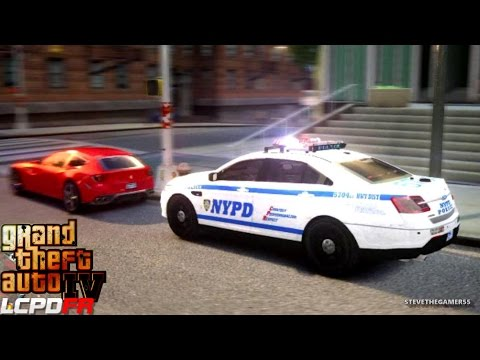 GTA 4 - LCPDFR - EPiSODE 54 - NYPD FORD TAURUS (NYPD HIGHWAY PATROL)