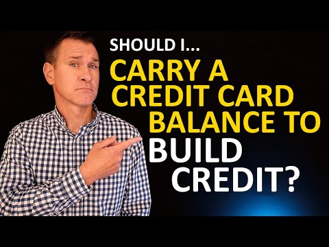Should I Carry a Small Credit Card Balance to Build Credit? (Leaving Balance for Credit Utilization?
