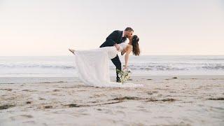 Kathleen & Chris | Santa Barbara Beach Elopement