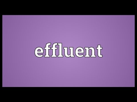 Effluent Meaning