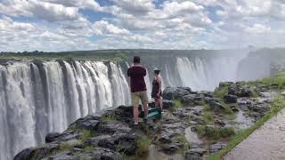 Zimbabwe:  Walking along and cruising above Victoria Falls plus Zip Lining over the Gorge