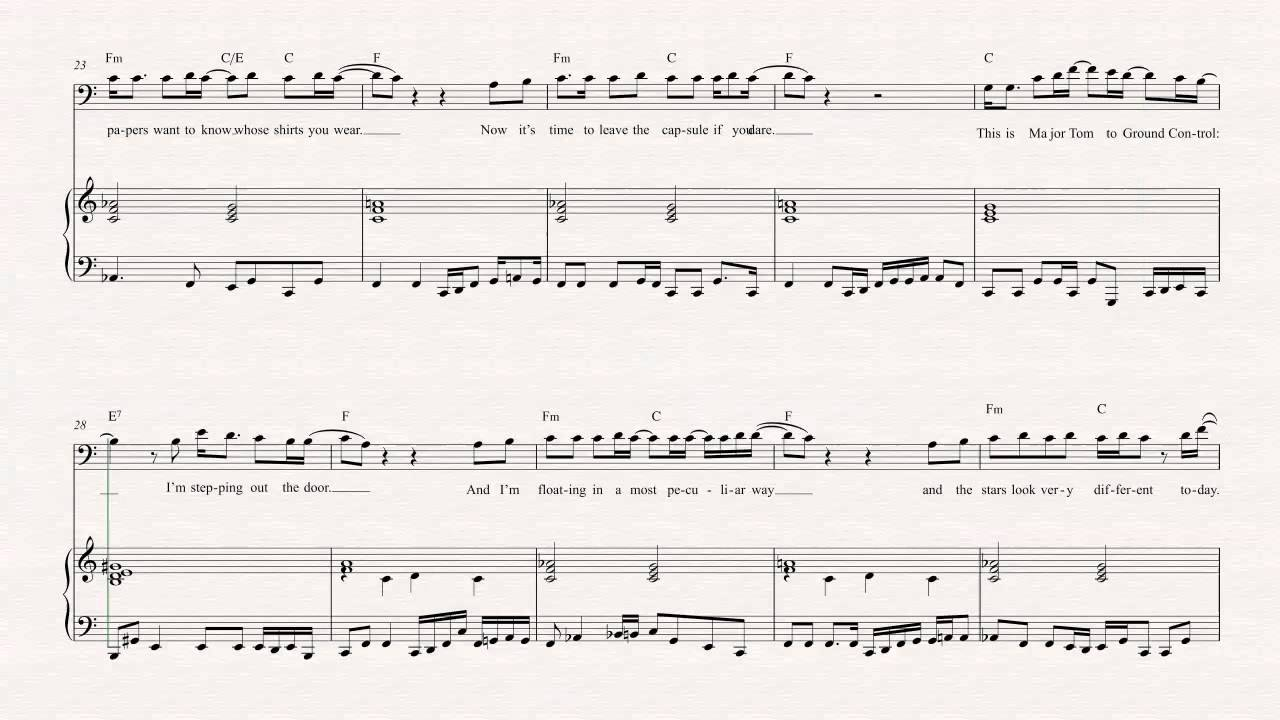 Cello space oddity david bowie sheet music chords vocals cello space oddity david bowie sheet music chords vocals youtube hexwebz Image collections