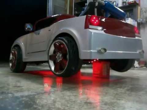 Power Wheels Custom Built NOS Dodge Charger part 2  YouTube