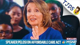Pelosi Blatantly Lies About Med4All At Town Hall