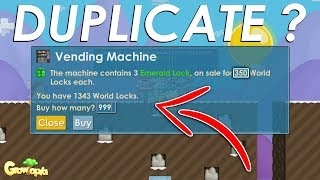 NEW SCAM ? EMERALD LOCK DUPLICATION ! - Growtopia