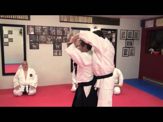 Ushiro Waza Ryote Mochi Nikajo Osae Ichi (first few steps)